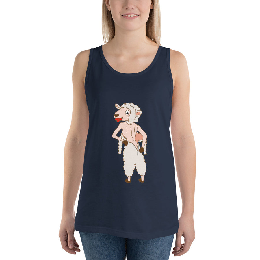 The Naked Sheep Tank Top - Pimmonster