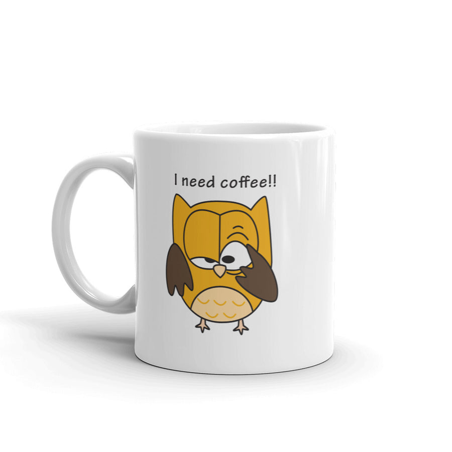 I Need Coffee Mug - Pimmonster