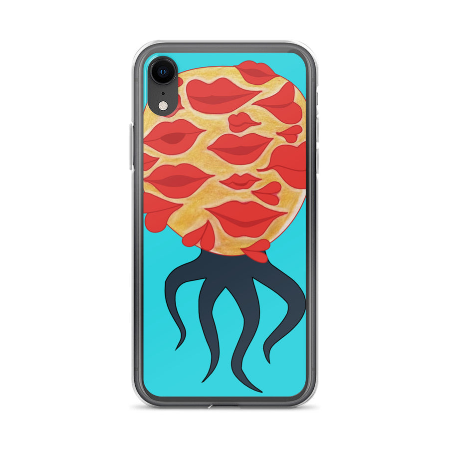 The Kisses Monster iPhone Case - Pimmonster
