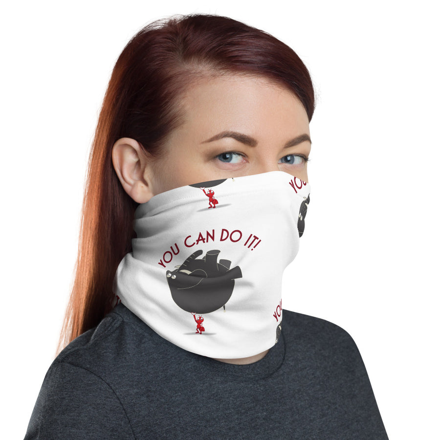 You Can Do It! Neck Gaiter - Pimmonster