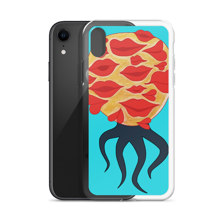 The Kisses Monster iPhone Case