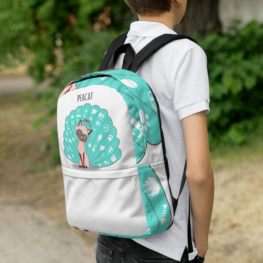 The Peacat Backpack - Pimmonster