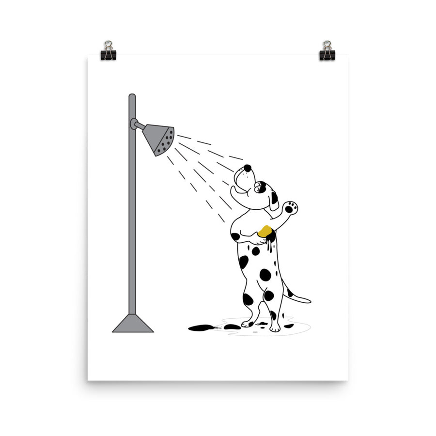 Mr Dalmatian Poster - Pimmonster