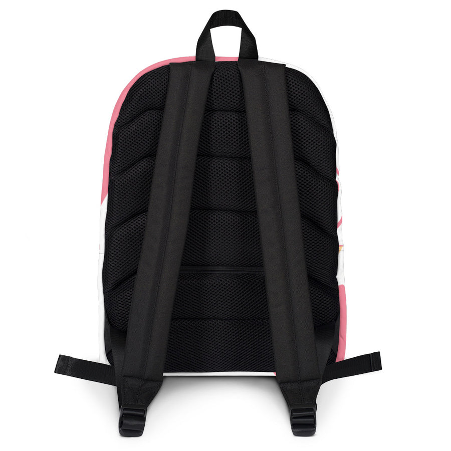 The Pink Frow Backpack