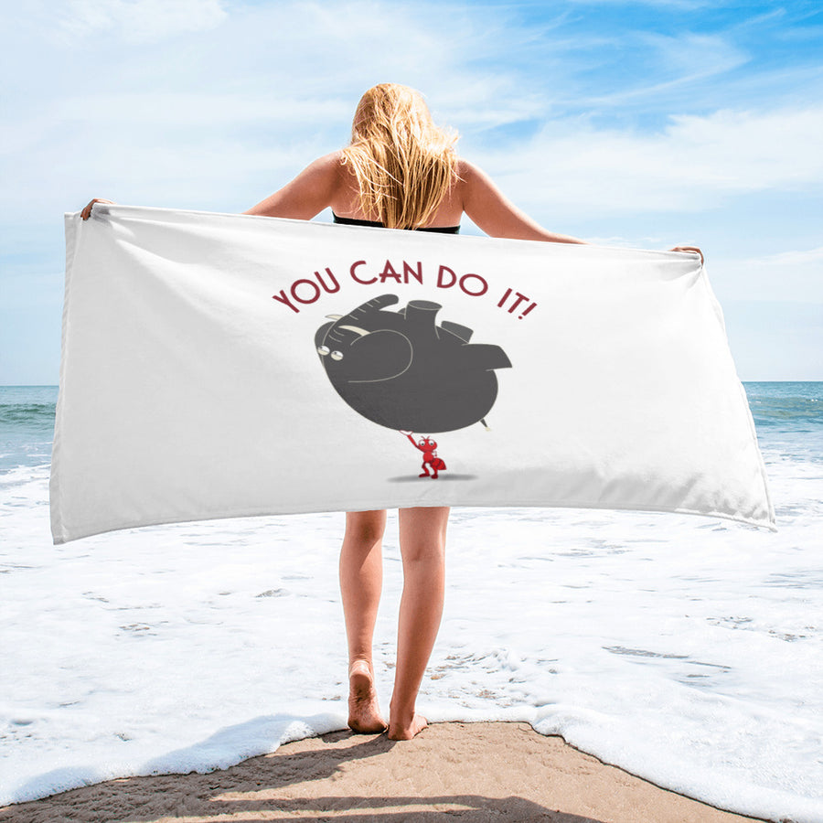 You Can Do it ! Towel - Pimmonster