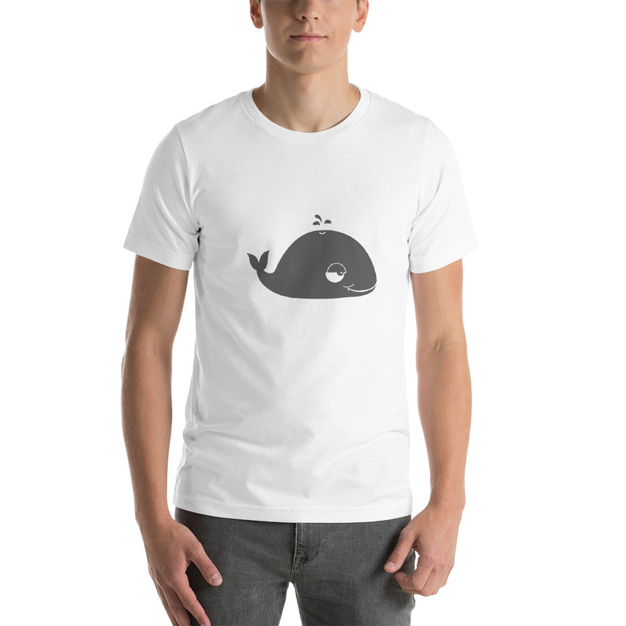 Well Well Whale Unisex T-Shirt - Pimmonster