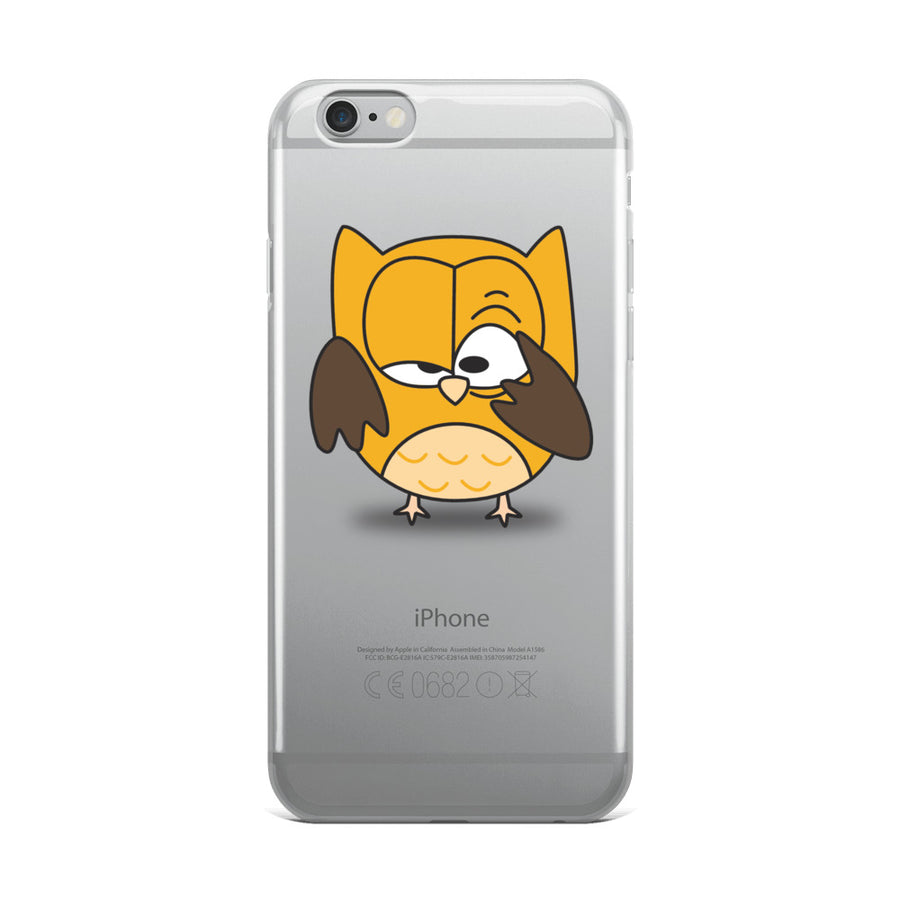 The Night Owl iPhone Case - Pimmonster