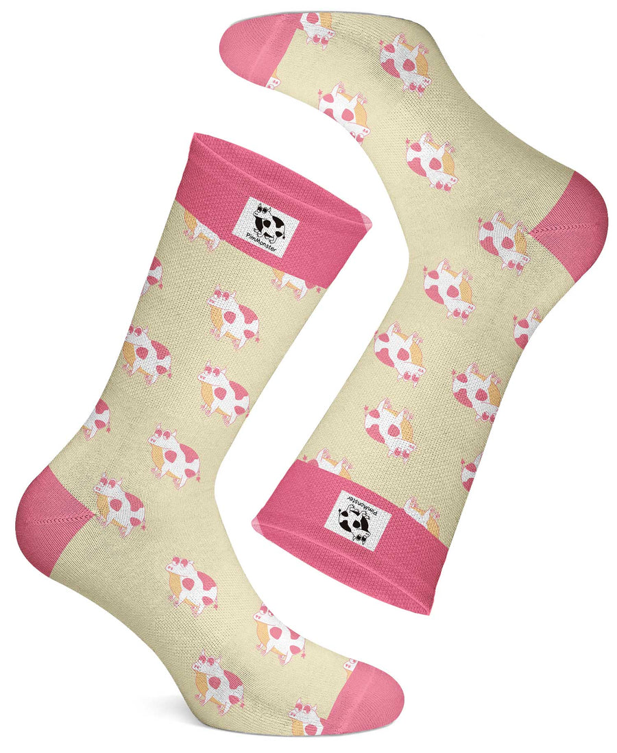 The Pink Frow Socks - Pimmonster