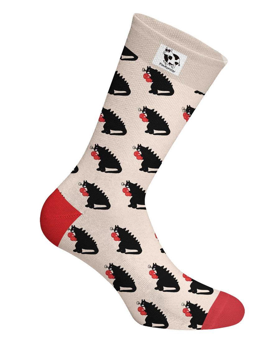 Red Fist socks - Pimmonster