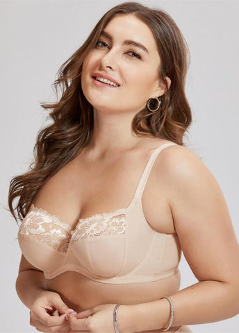 9bc115b4485ac Floral Underwire Lace Balconette Bra - Shelby s