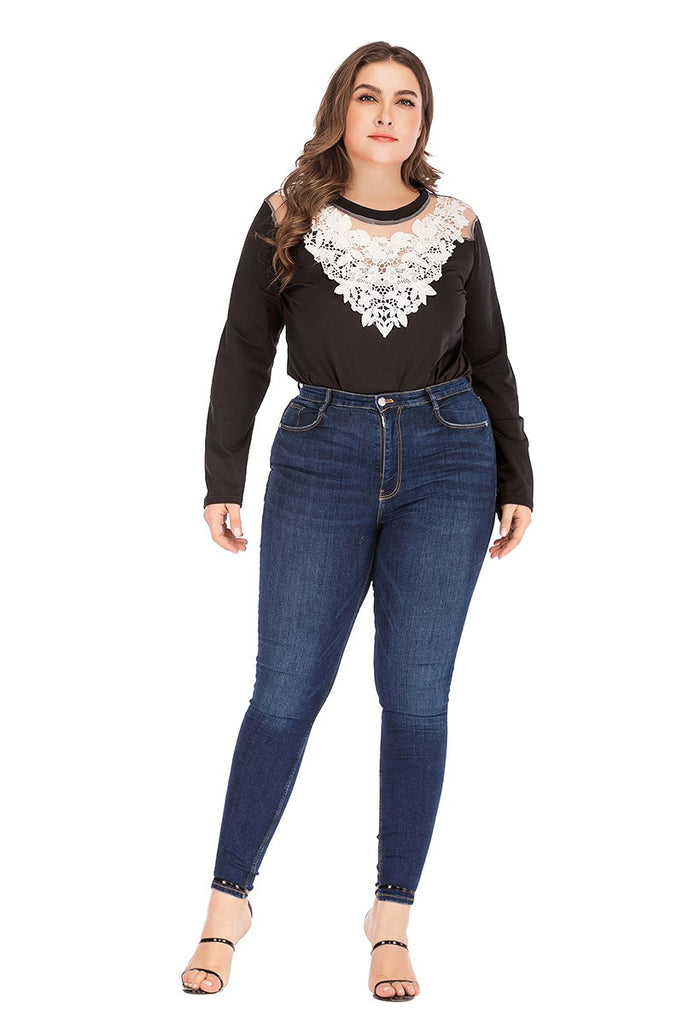 eed5332ab2 White Floral Lace Mesh Bodysuit – Shelby s