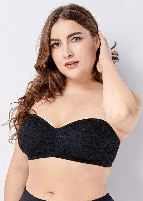 e312af8d0d042 No Padding Underwire Smooth Strapless Bra – Shelby s