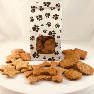 Mini doggie biscuits