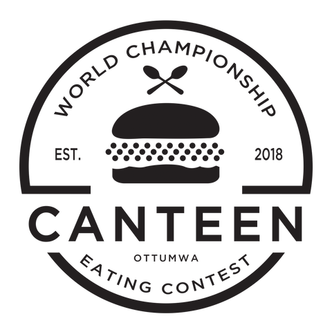 eating contest logo