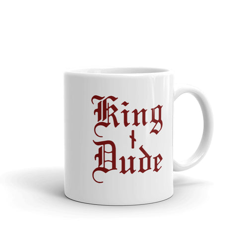 King Dude Logo • Ceramic Mug