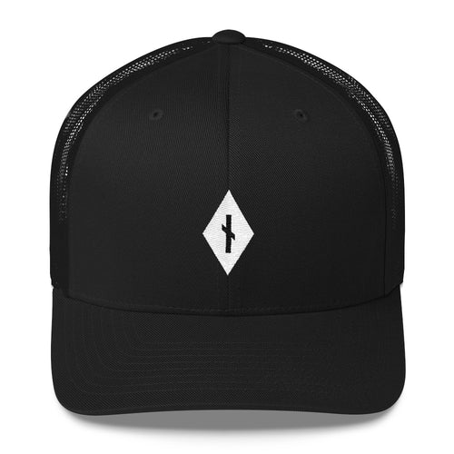 Diamond Nauthiz Rune • Trucker Style Hat