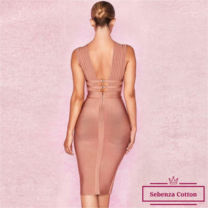 MELBOURNE bandage dress