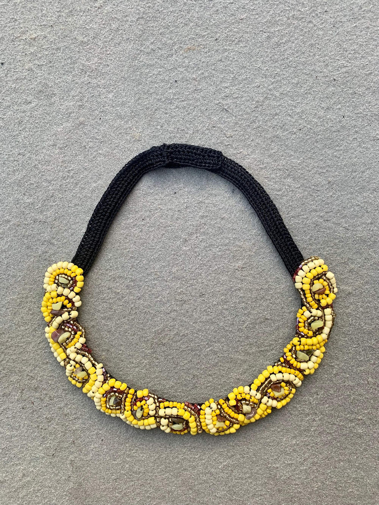 Van Gogh Necklace Yellow