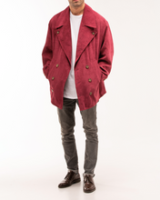 Baggy Jacket Stone Burgundy