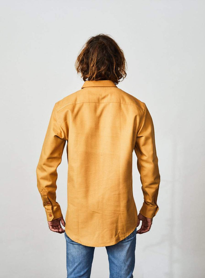 Flannel Shirt Long Sleeve Smoothbrown