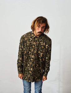 Flannel Shirt Long Sleeve Canoesalmon