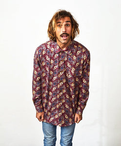 Flannel Shirt Long Sleeve Royalone