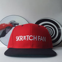 SKRATCH FAN Snapback (RAP FAN x DJ QBert) *Ships Immediately*
