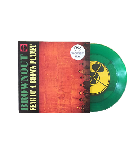 "Brownout - ""Trackstar The DJ To The Edge of Panic"" - 7"" **Green Vinyl Repress*"