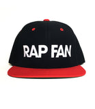 BRED RAP FAN Snapback *Ships Immediately*