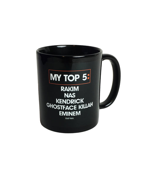 My Top 5 Mug (PERSONALIZED)