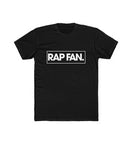 White on Black Rap Fan T-Shirt