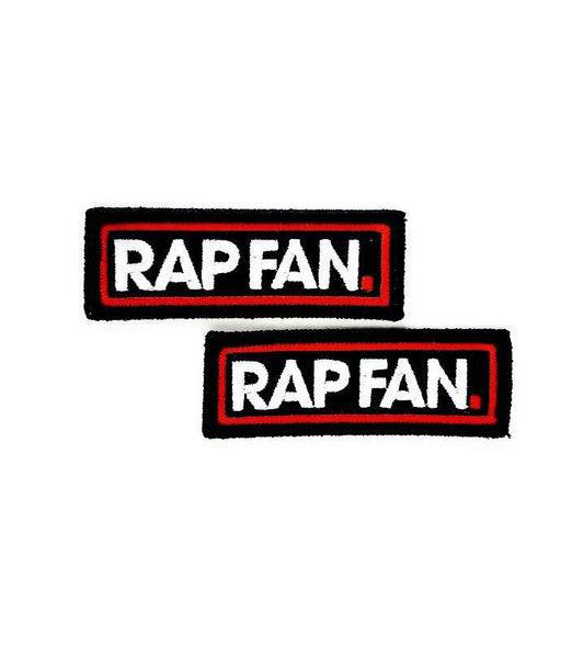 RAP FAN Iron-On Patch