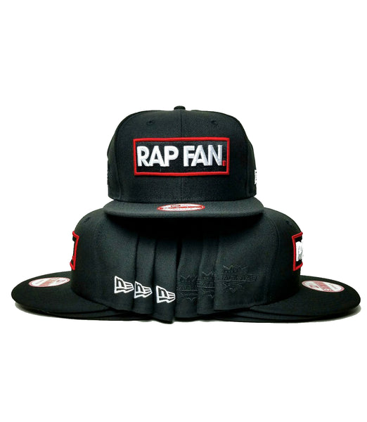 RAP FAN x New Era Snapback *Ships Immediately*