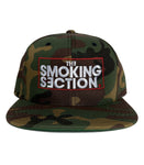 The Smoking Section Snapback Hat
