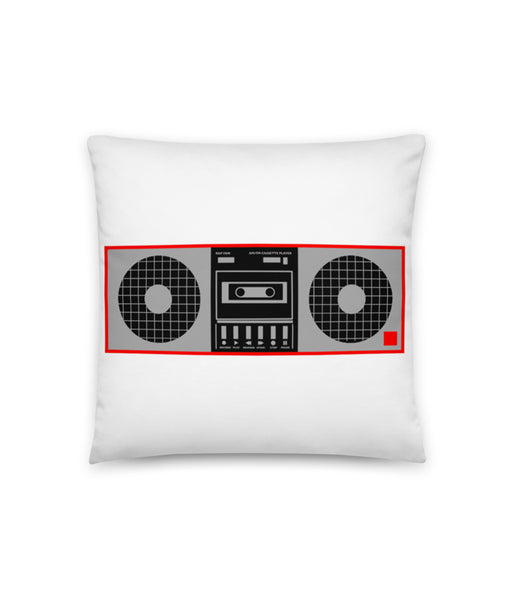 Boomboxed Pillow
