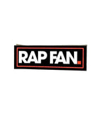 RAP FAN Bumper Sticker