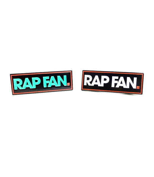 RAP FAN Enamel Pin