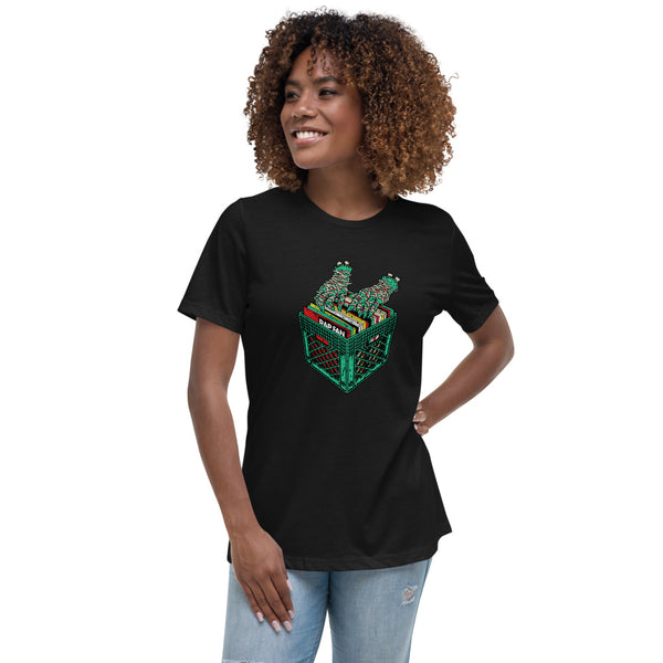 RTJDJ2 (RAP FAN x Run the Jewels) Ladies Relaxed Fit T-Shirt