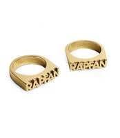 RAP FAN x Peace Images Rings