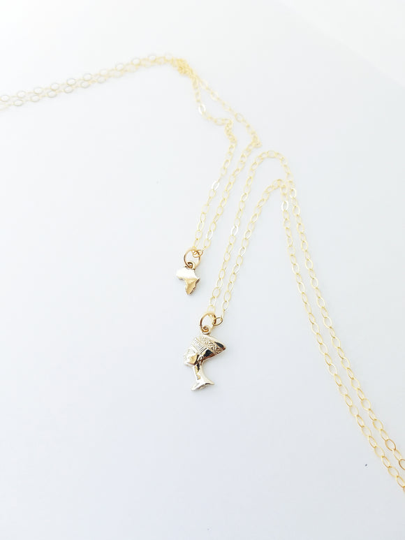 Herstory Charm Necklace Set
