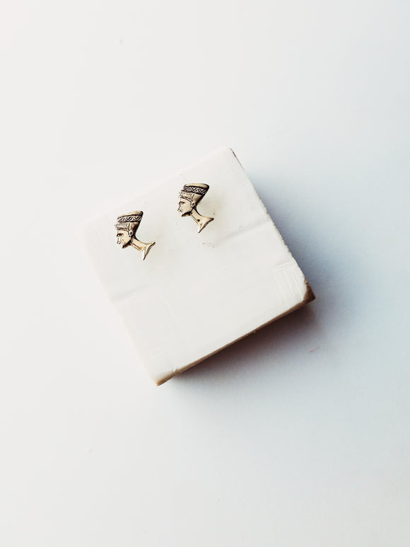 Little Nefertiti Studs