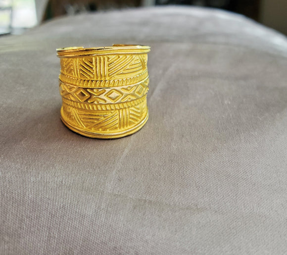 Mud Cloth Ring