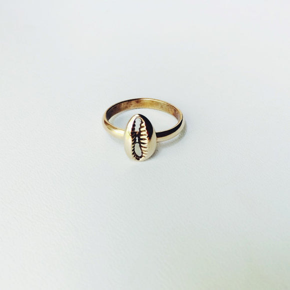 The Mini Cowrie Ring