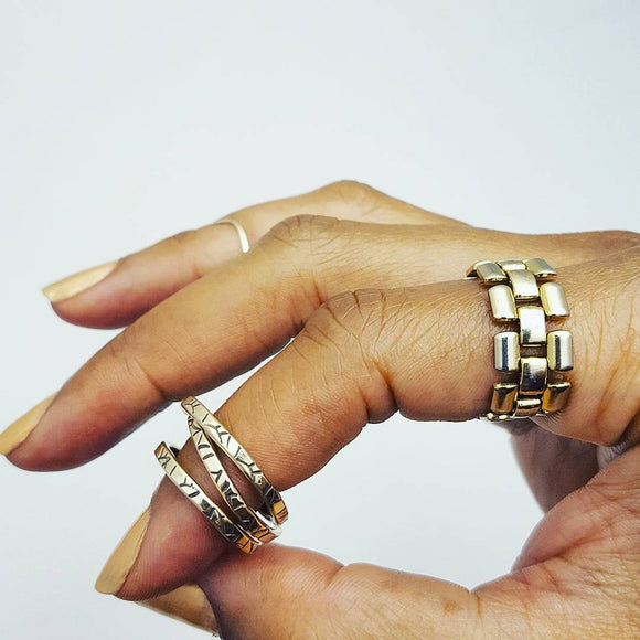 Textured Finger Cuffs