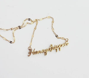 Honeydripper Necklace [SHIPS  8/15]