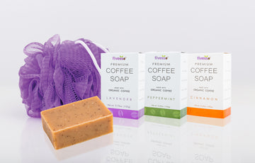 Fivesso Original Coffee Soaps: 3 Pack