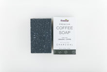Premium Coffee Soap Bar - Activated Charcoal