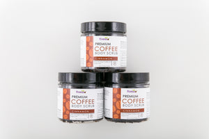 Premium Coffee Scrub – Cinnamon (Pack of 3)