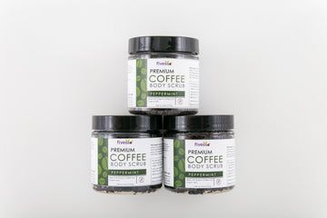 Peppermint - Premium Coffee Scrubs (Pack of 3)