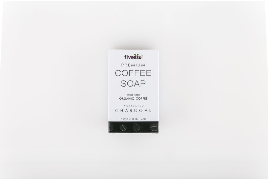 Activated Charcoal - Premium Coffee Soap Bar